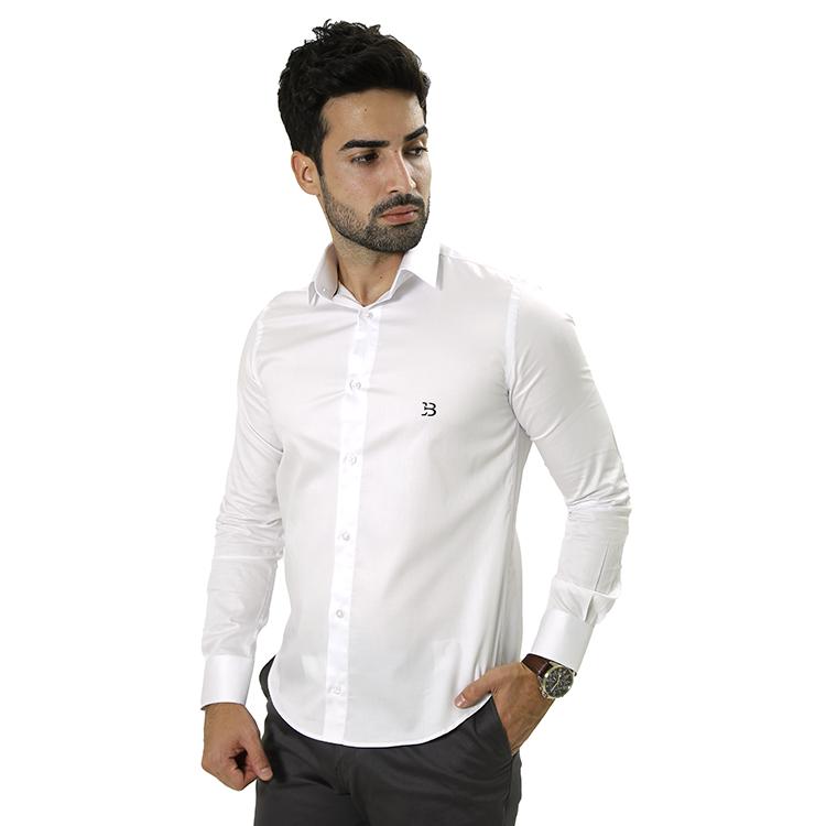 Camisa Manga Longa - Branca Lisa