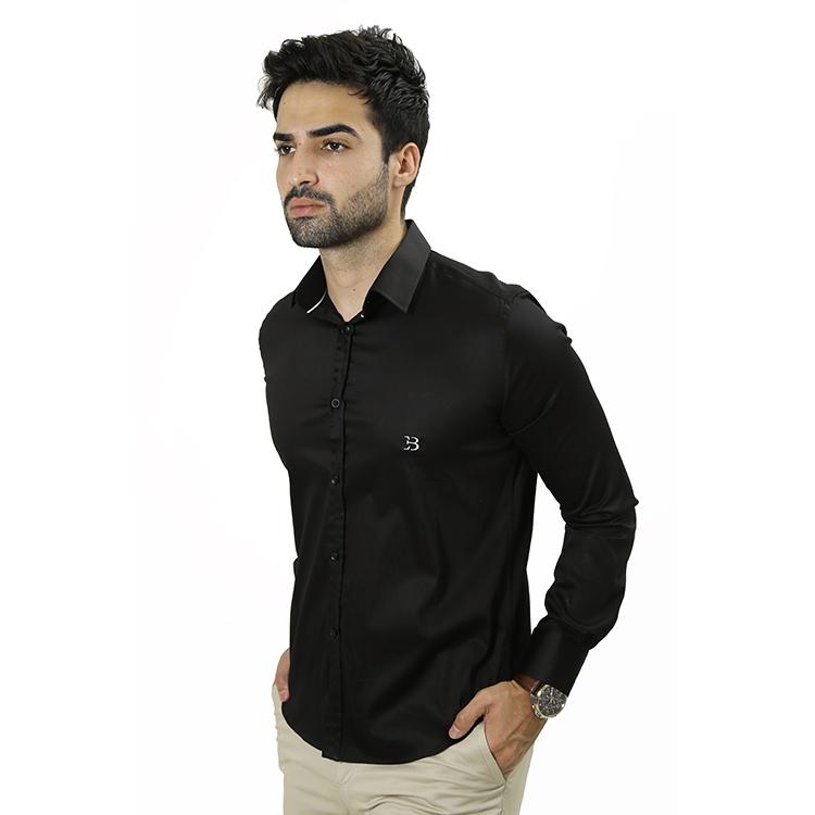 Camisa Manga Longa Preta